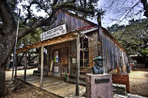 Luckenbach Texas Post Office / General Store