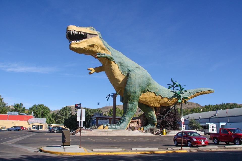 Badlands Alberta Dinosaur