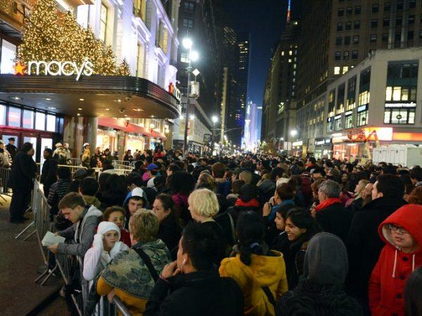 Crowd On Black Friday